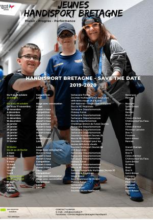 Calendrier des jeunes régional
