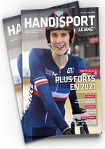 """Couverture du Handisport Le Mag no179 Mai 2020 """"Plus forts en 20221"""""""