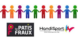 Une ribambelle de silhouettes colorées se donnant la main pour symboliser le partenariat