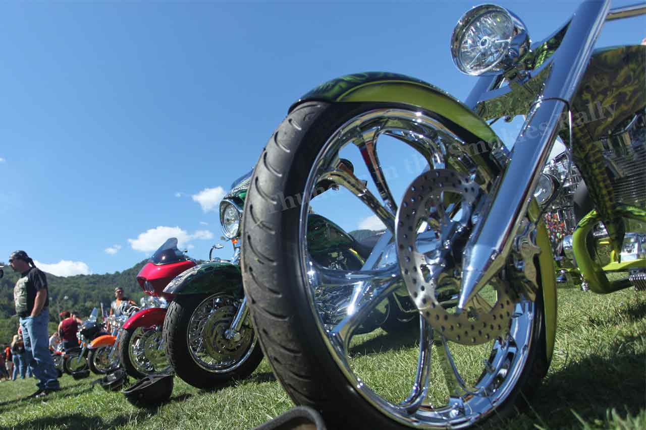 Bike Show at Thunder in the Smokies Rally