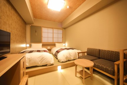 御宿野乃難波酒店 (Onyado Nono Namba Natural Hot Spring) - Moderate Twin Room