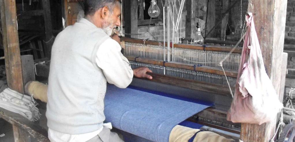 Process of making handwoven denim | Eco-friendly Denim Store