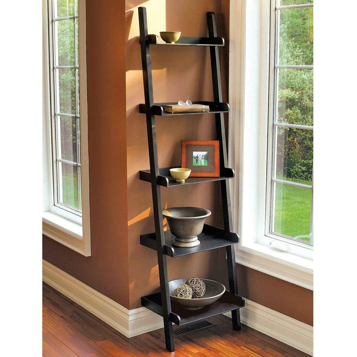 Diy Ladder Shelf Ideas Hand Luggage Only Travel Food