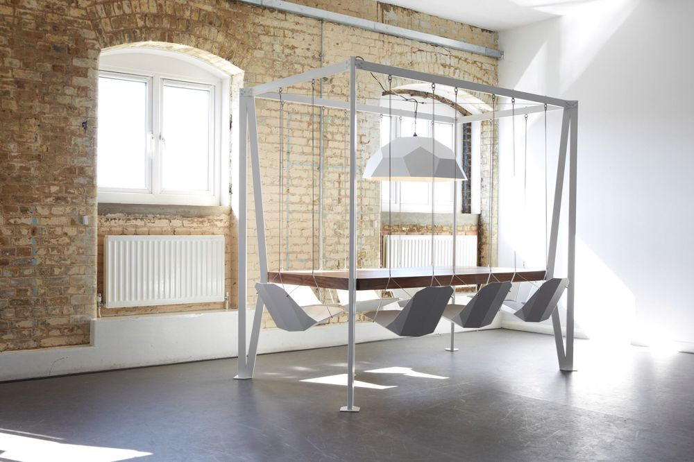 Swing Swining Dining Chair and Table