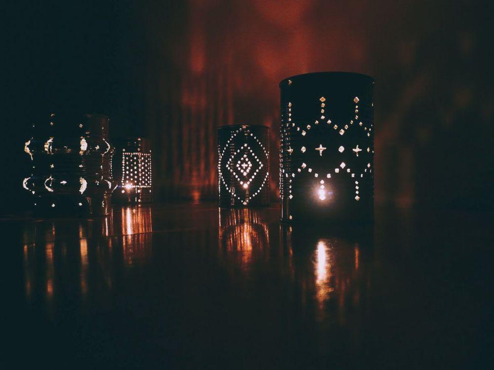 Weekend DIY Lighting Tips: Tin Can Lanterns (4)
