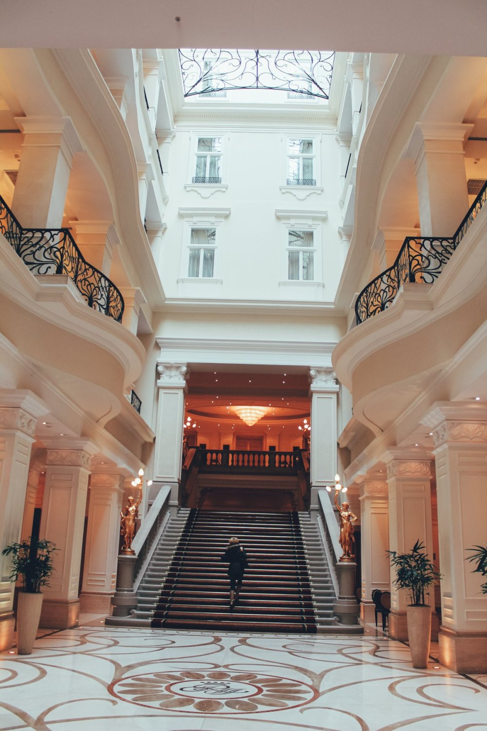 Arrival in Budapest! First stop - The Corinthia Hotel. (1)