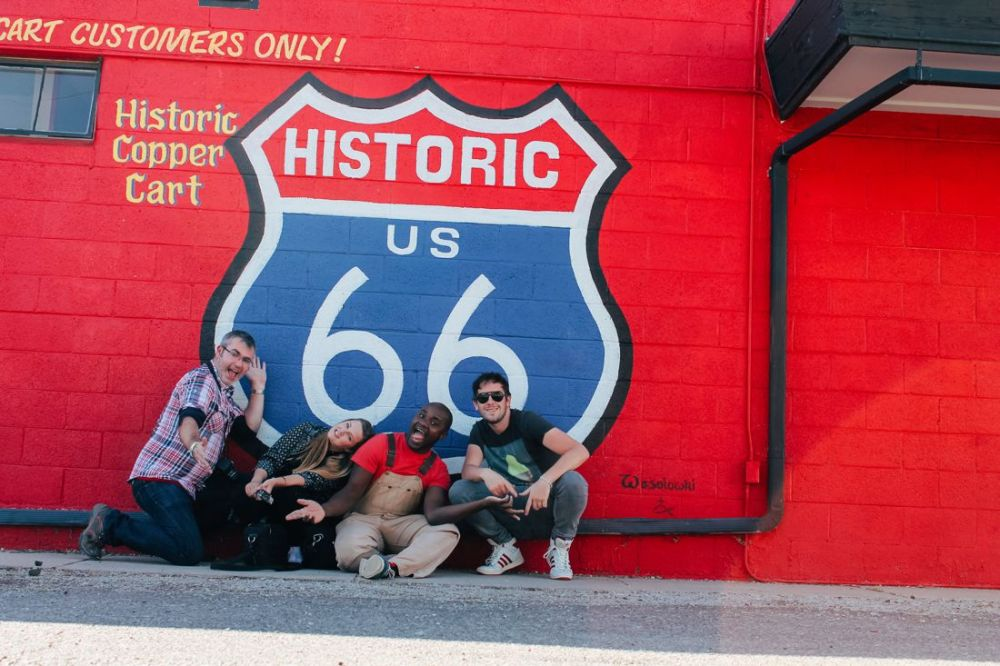 Road Trip USA! The legendary Route 66 and Road Kill Cafe! (14)