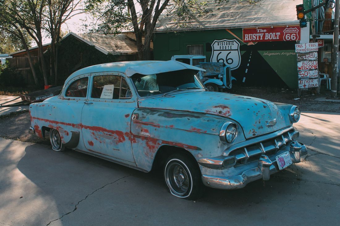 Road Trip USA! The legendary Route 66 and Road Kill Cafe! (23)