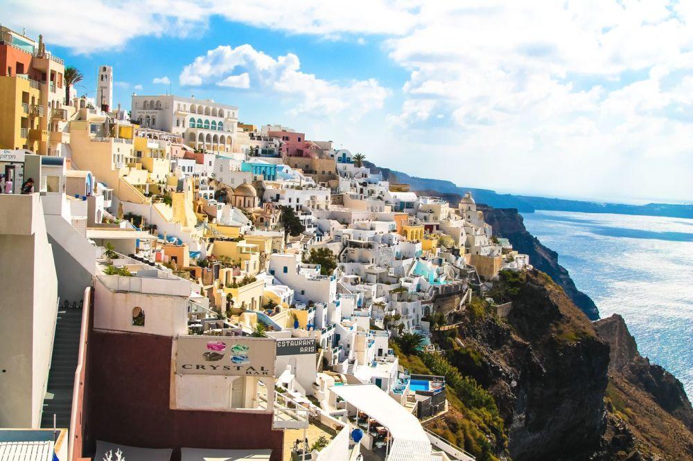 A Huge Grecian Hello From Santorini!!! (1)