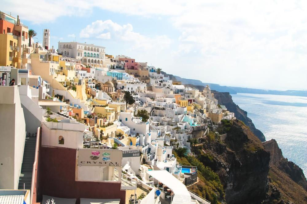 Sunrise To Sunset in Oia and Fira in Santorini, Greece! (7)