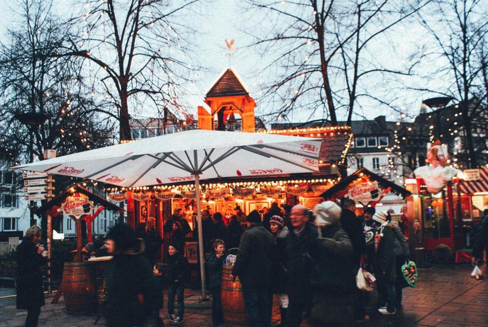 German Christmas Market, Winter (1)