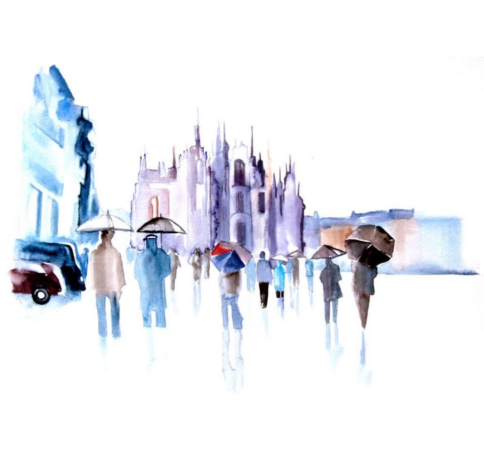 Watercolour Cities by Elena Romanova Artist (5)