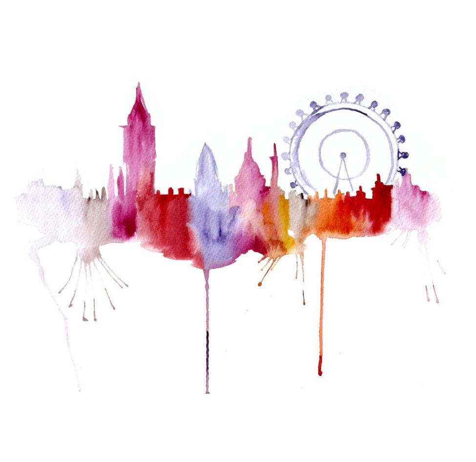 Watercolour Cities by Elena Romanova Artist (15)