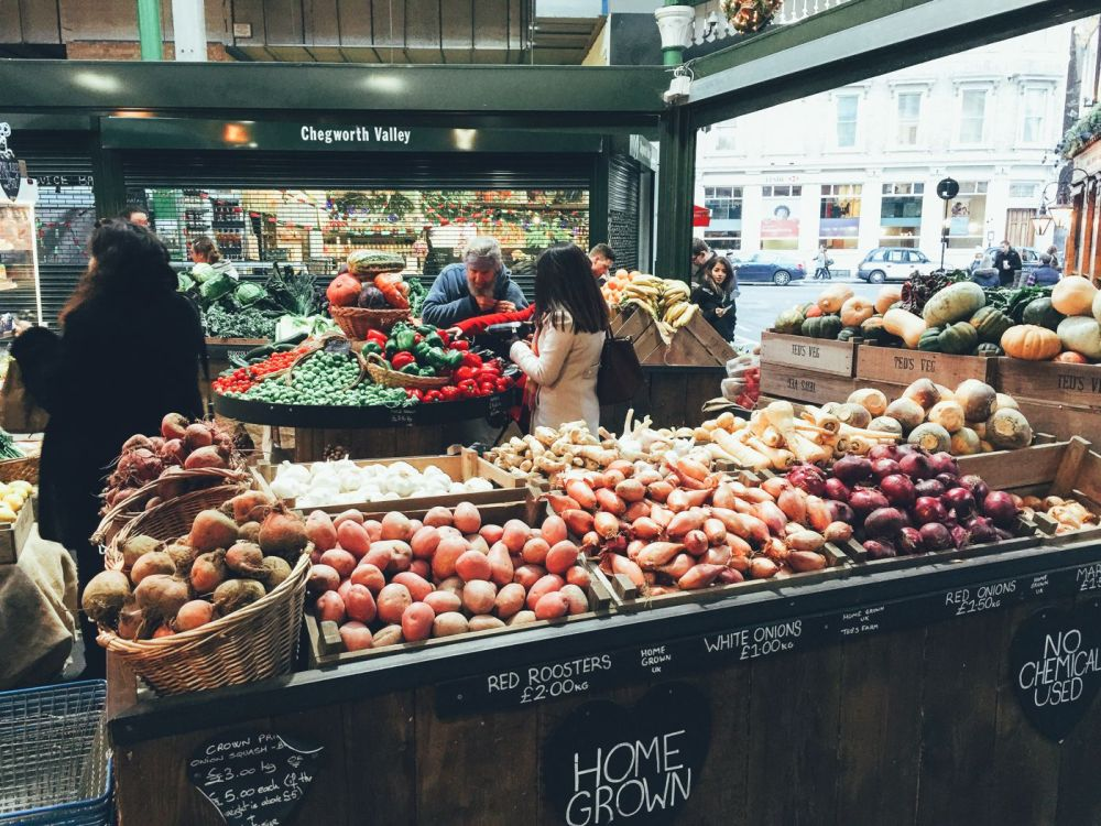 Hog Rolls and Hot Cider in Borough Market, London (1)