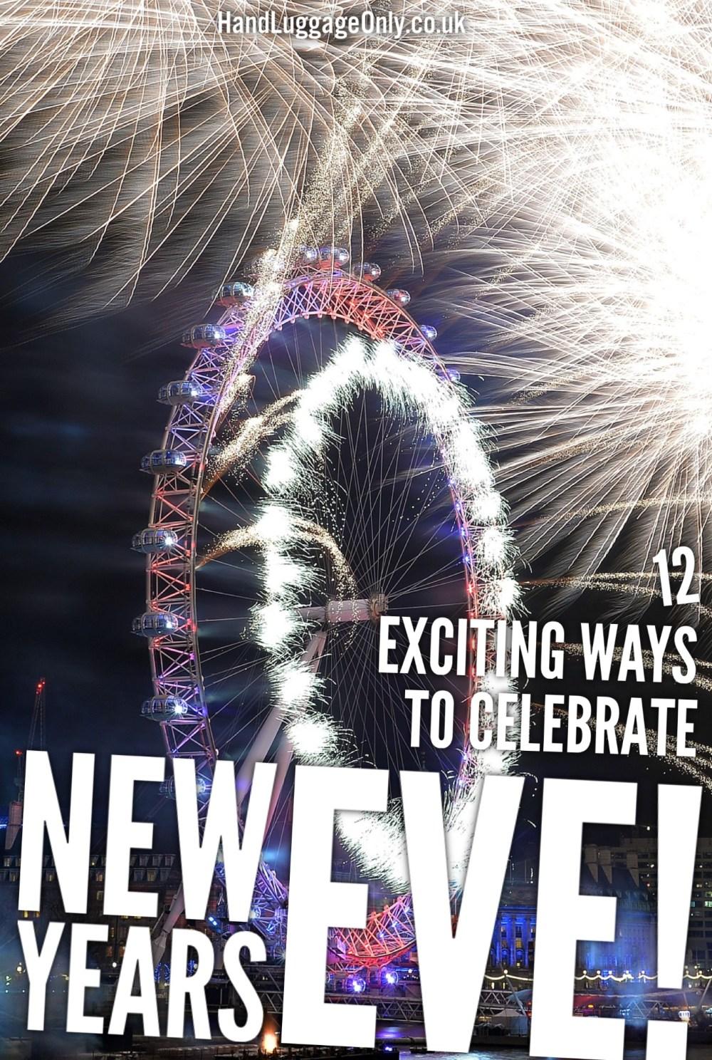 Celebrate NYE