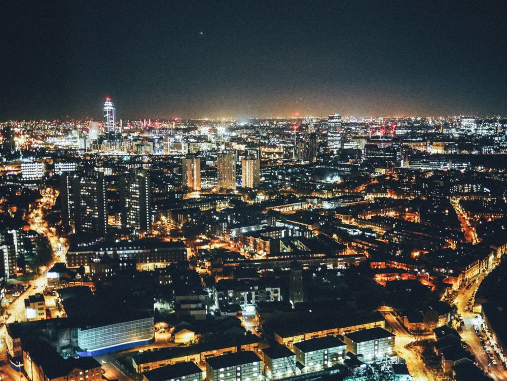 London City Nightime Photo on Hand Luggage Only Blog (2)