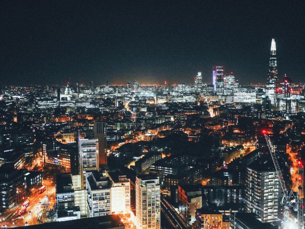 London City Nightime Photo on Hand Luggage Only Blog (4)