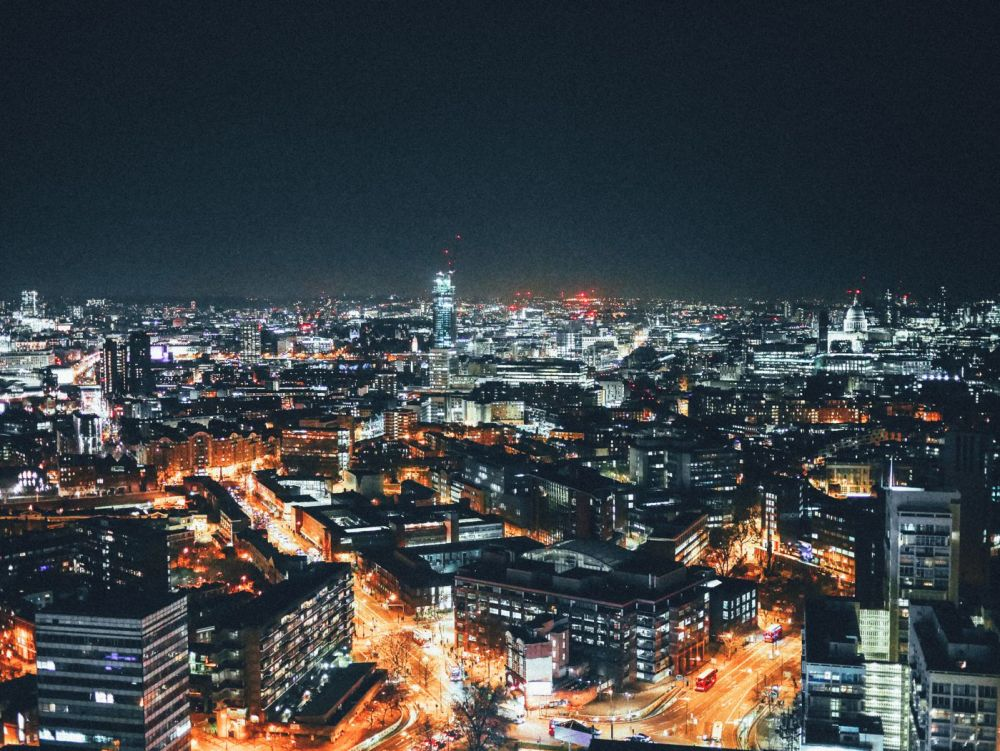 London City Nightime Photo on Hand Luggage Only Blog (5)