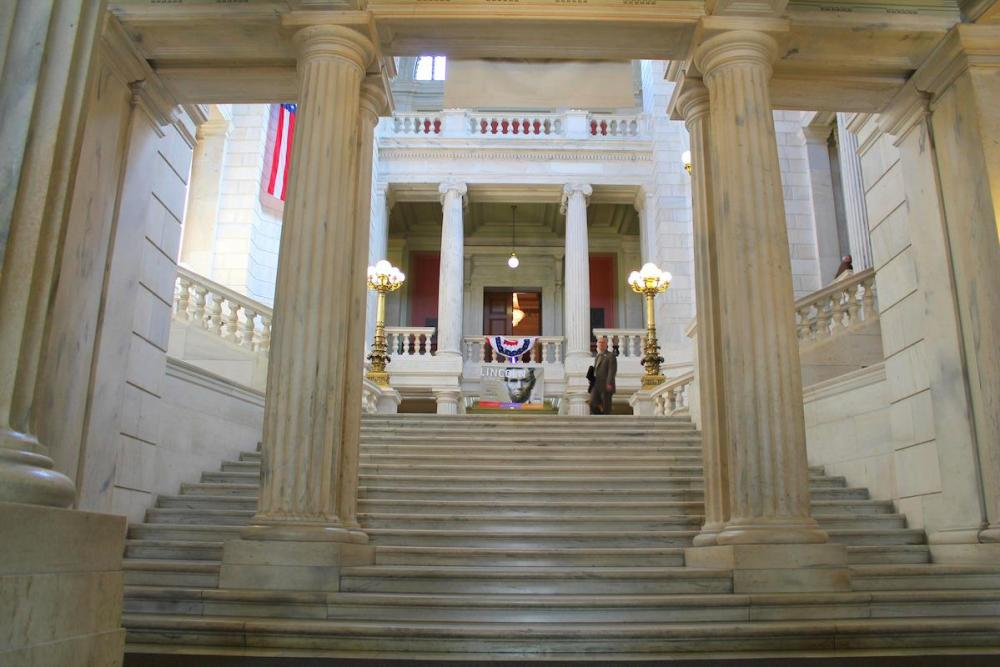 Gate-Crashing A Meeting In A Government State House… in Providence, Rhode Island, USA (18)