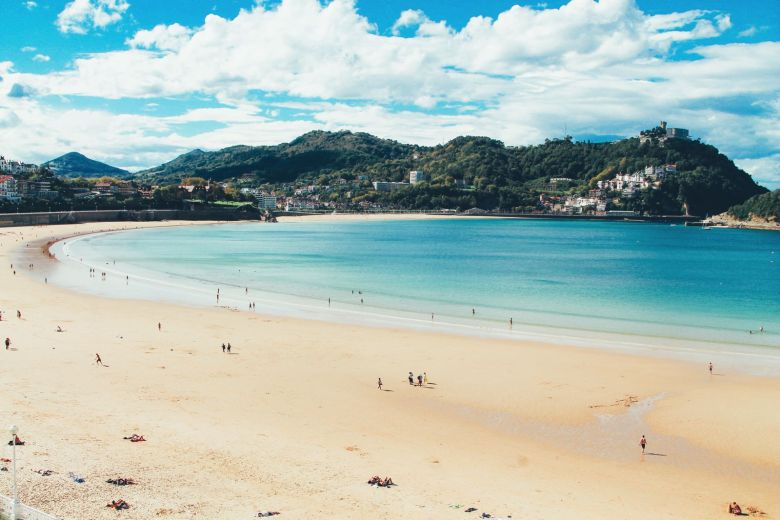The Most Beautiful City in Spain. San Sebastian, Gipuzkoa, Spain, Hotel Londres (17)