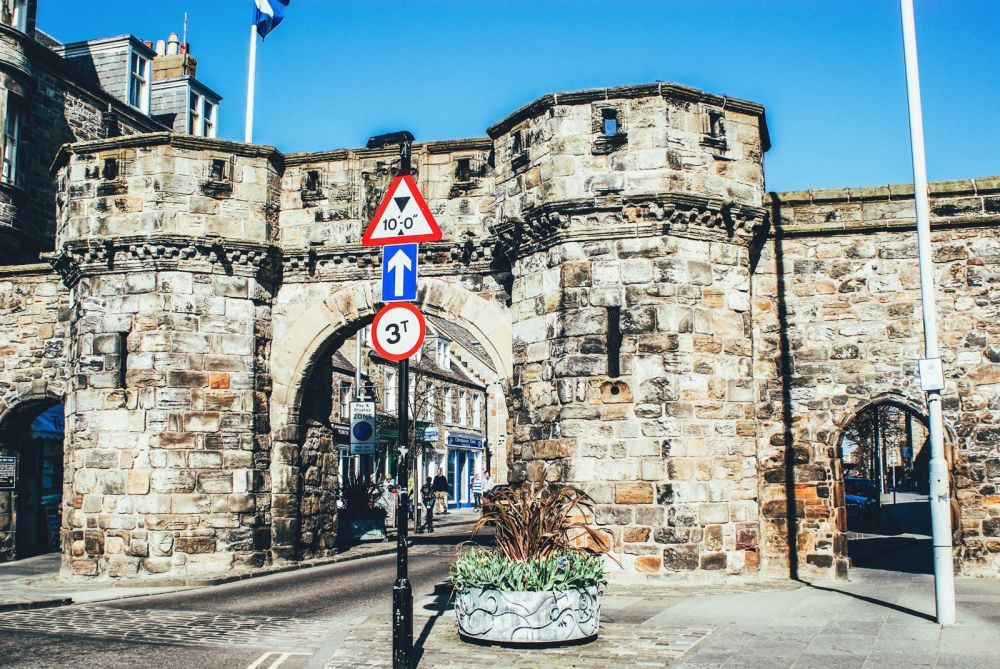 Walking Around St Andrews, Scotland, United Kingdom (1)