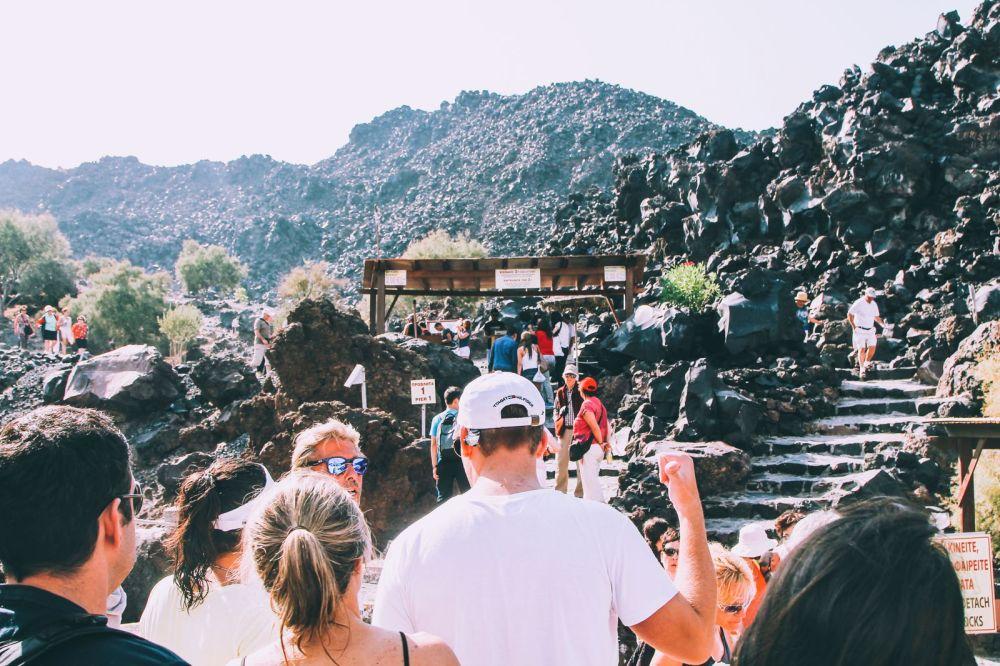 Conquering Volcanos in Santorini, Caldera, Sailing, Boat Trip, Greece (16)