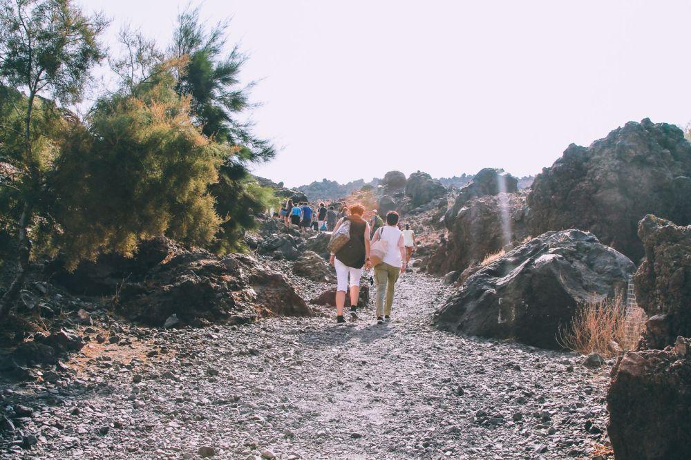 Conquering Volcanos in Santorini, Caldera, Sailing, Boat Trip, Greece (19)