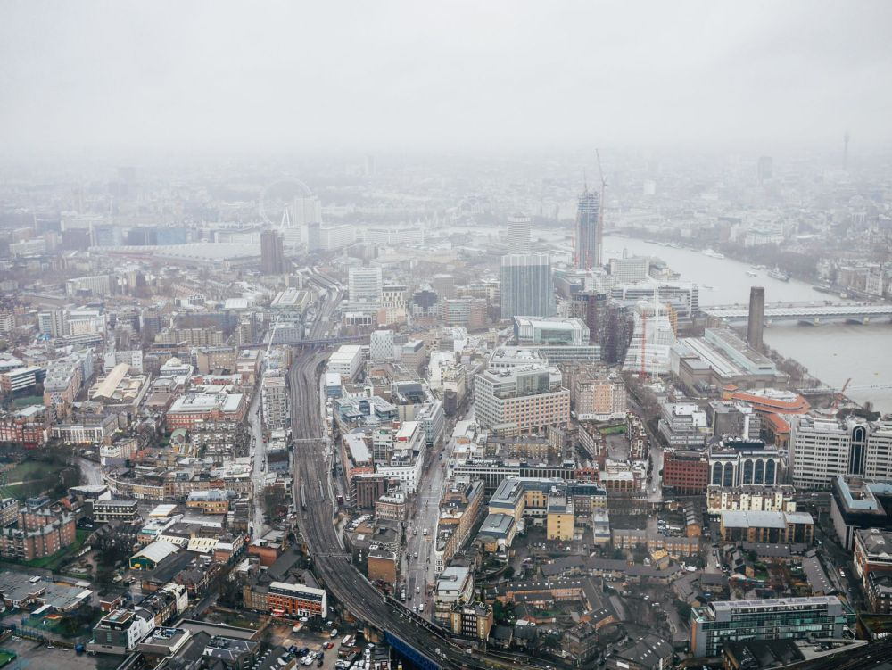 A Tinggly Experience In London, The Shard, Azzuro Restaurant (11)