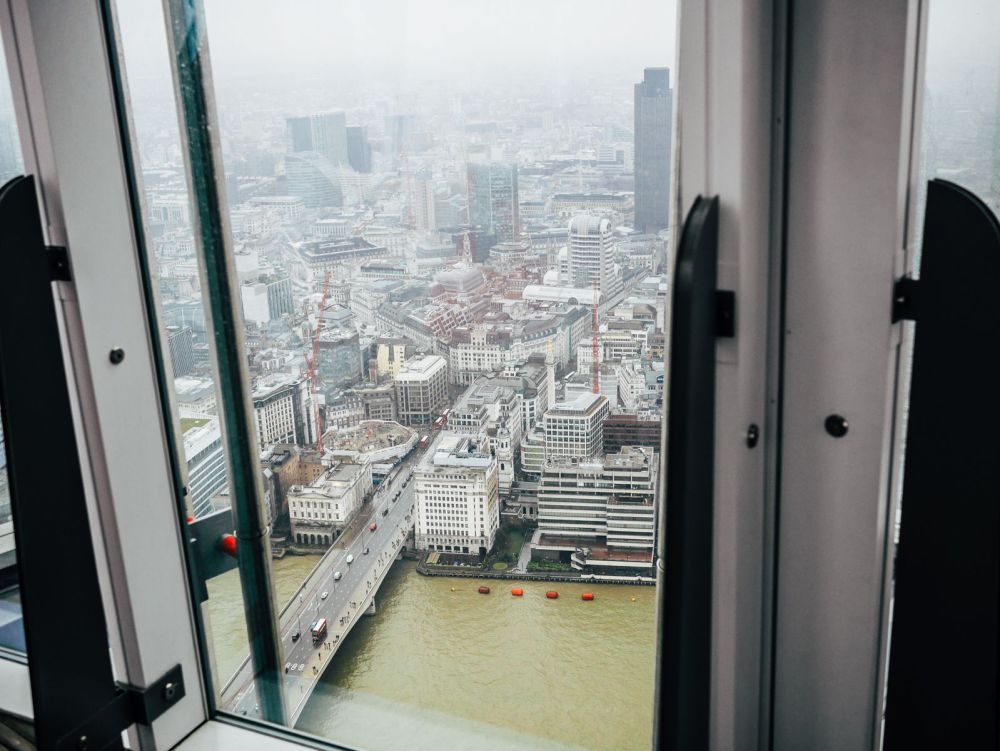 A Tinggly Experience In London, The Shard, Azzuro Restaurant (13)