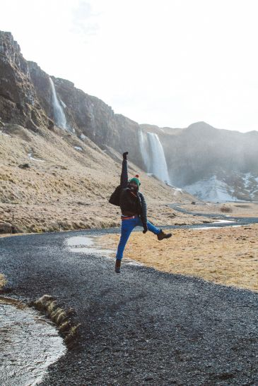 Seljalandsfoss and Skógafoss Waterfalls in Iceland plus Icelandic Lamb and rainbows (16)