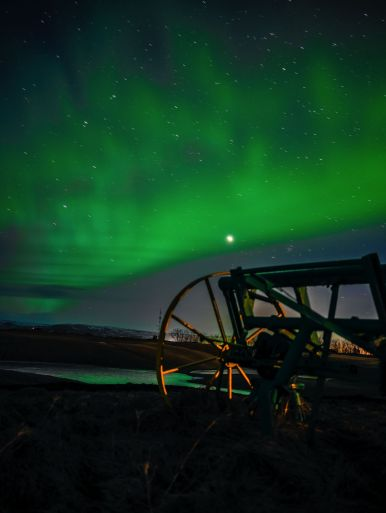 The Northern Lights in Iceland and Hotel Laki - www.HandLuggageOnly.co.uk (1)