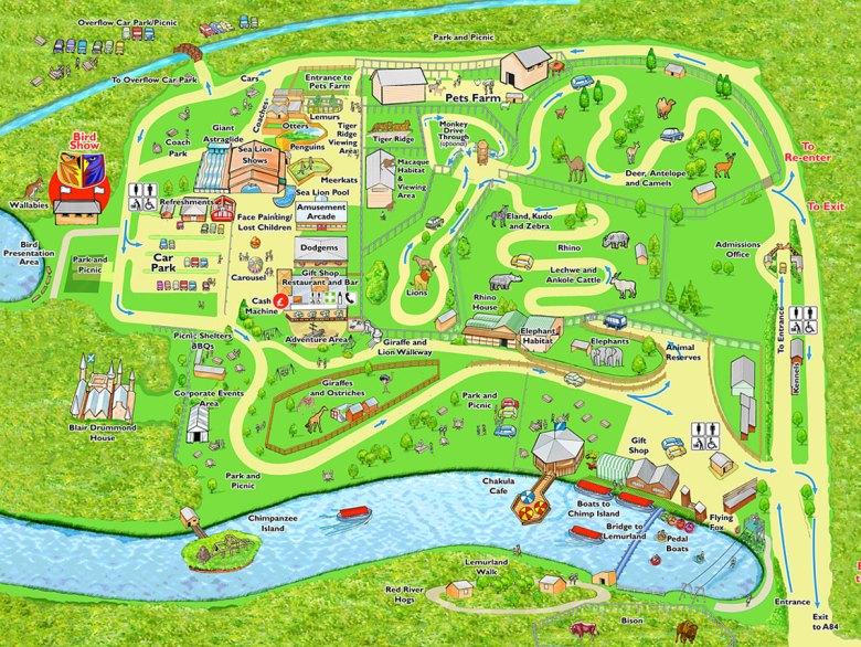 Blair Drummond Safari Park, Scotland, UK (3)