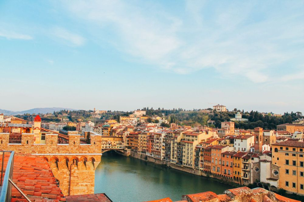 This Is The Best View In Florence, Italy! (2)