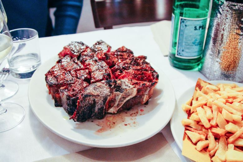 Arriving in Florence and Steaks at Bucca Marios! (14)
