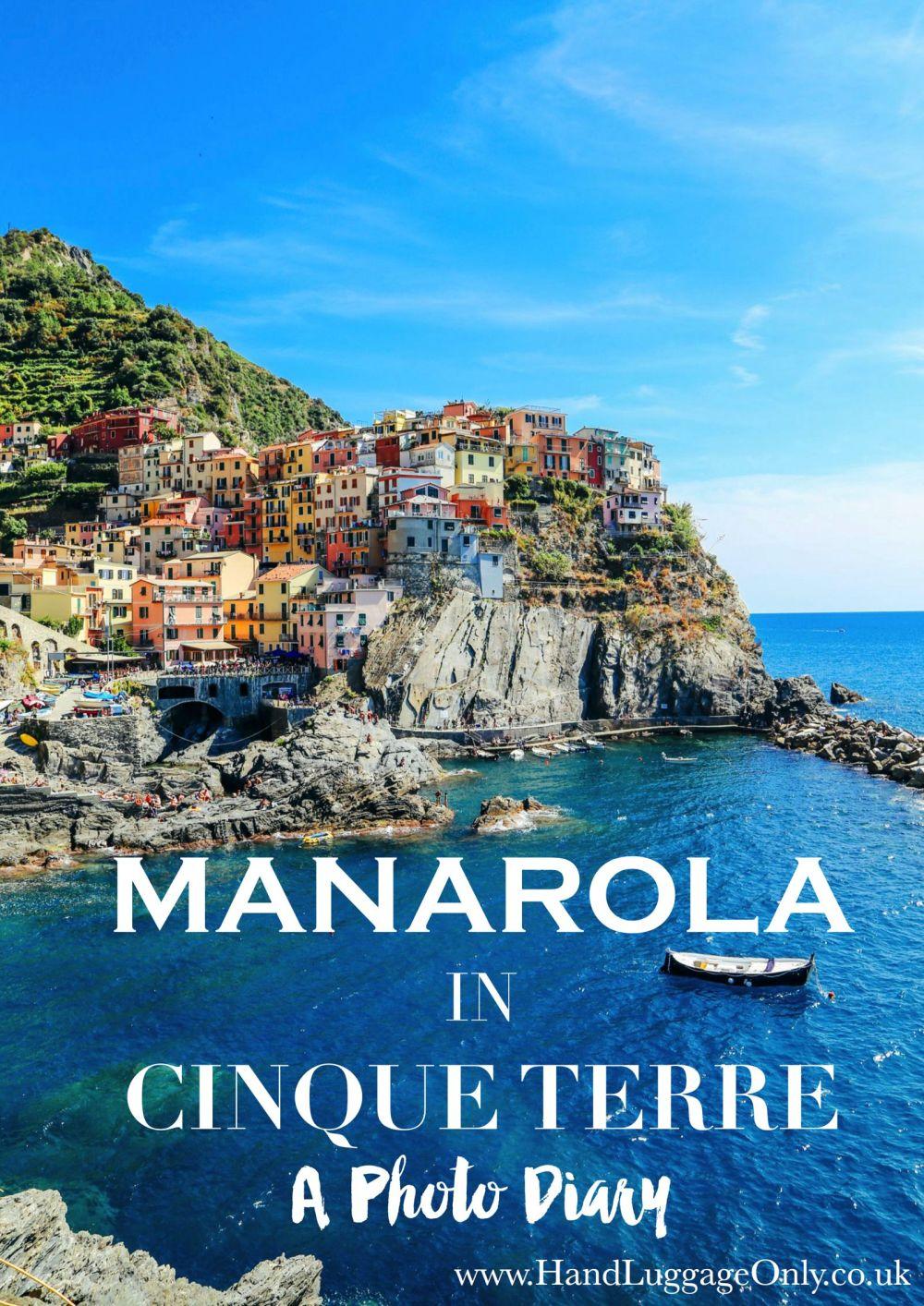 Manarola in Cinque Terre - A Photo Diary