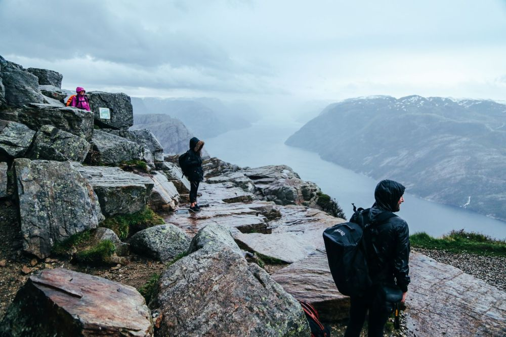 How To See The Lysefjord AND Get To The Very Edge Of Pulpit Rock In Norway! (54)