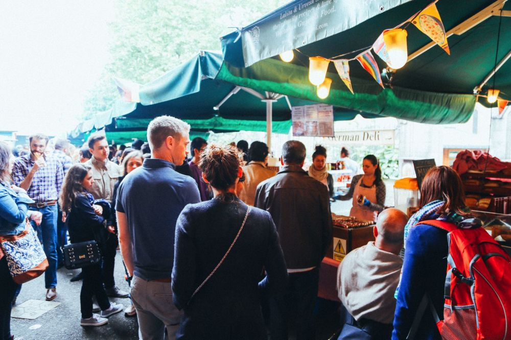Lazy London Summer Afternoons... Borough Market and Imperial War Museum (8)