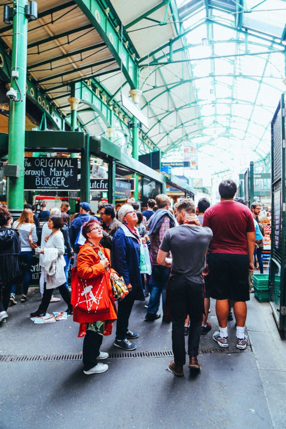 Lazy London Summer Afternoons... Borough Market and Imperial War Museum (21)