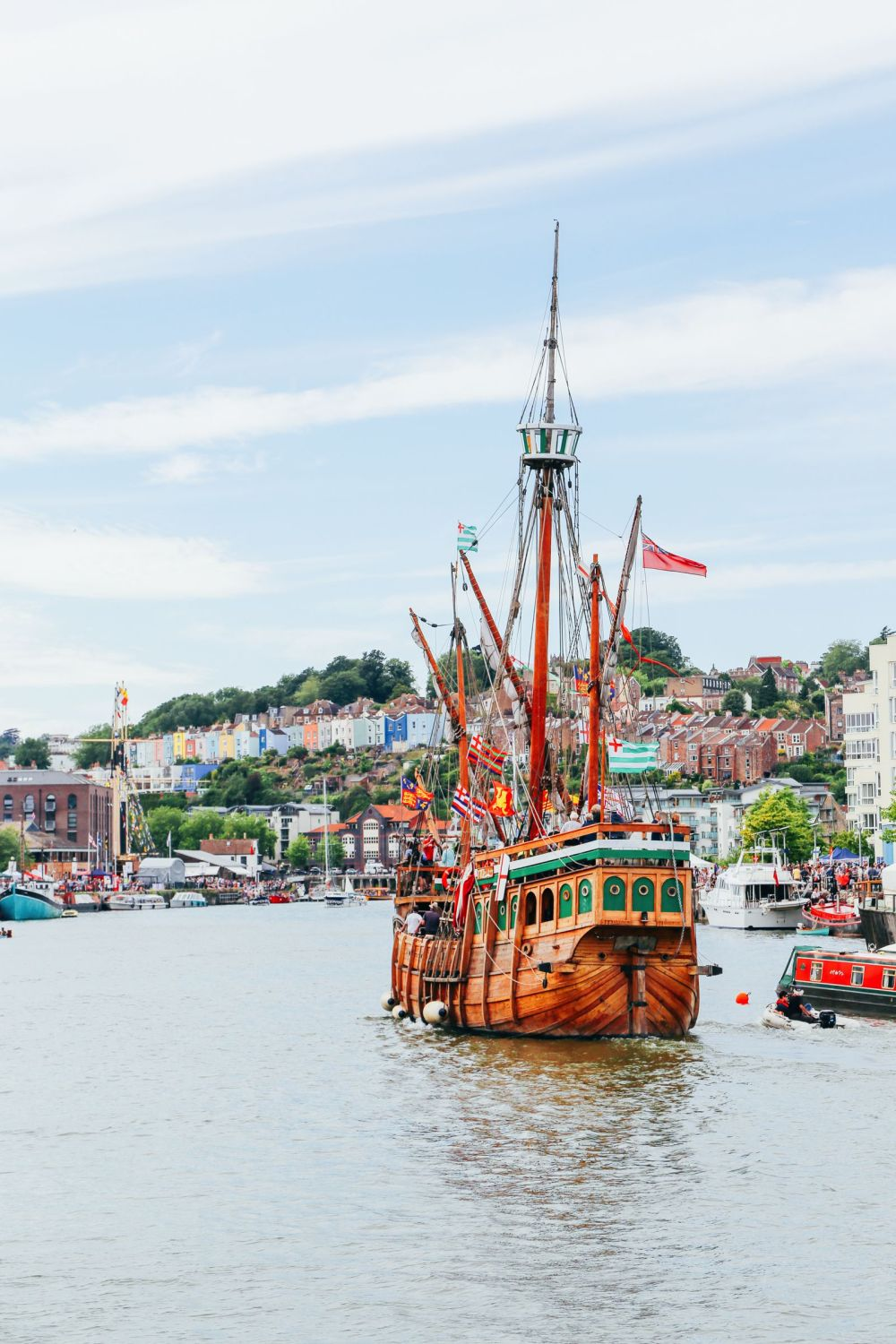 The Harbour Festival, Banksy, Steam Trains & The Girl With The Pierced Ear Drum... in Bristol, UK (43)