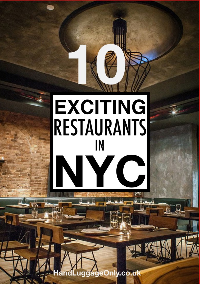 10 Exciting New Restaurants in New York City (1)