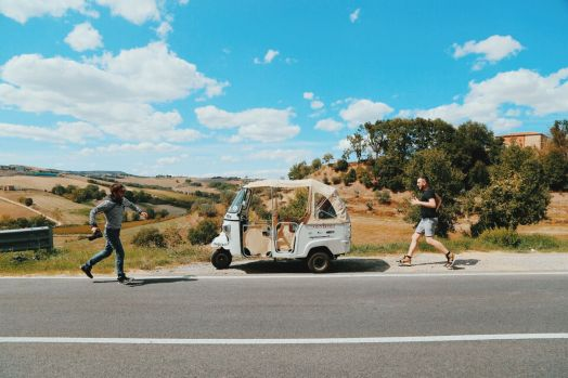 Driving Across Italy On A Rickshaw! Our Journey So Far... (11)