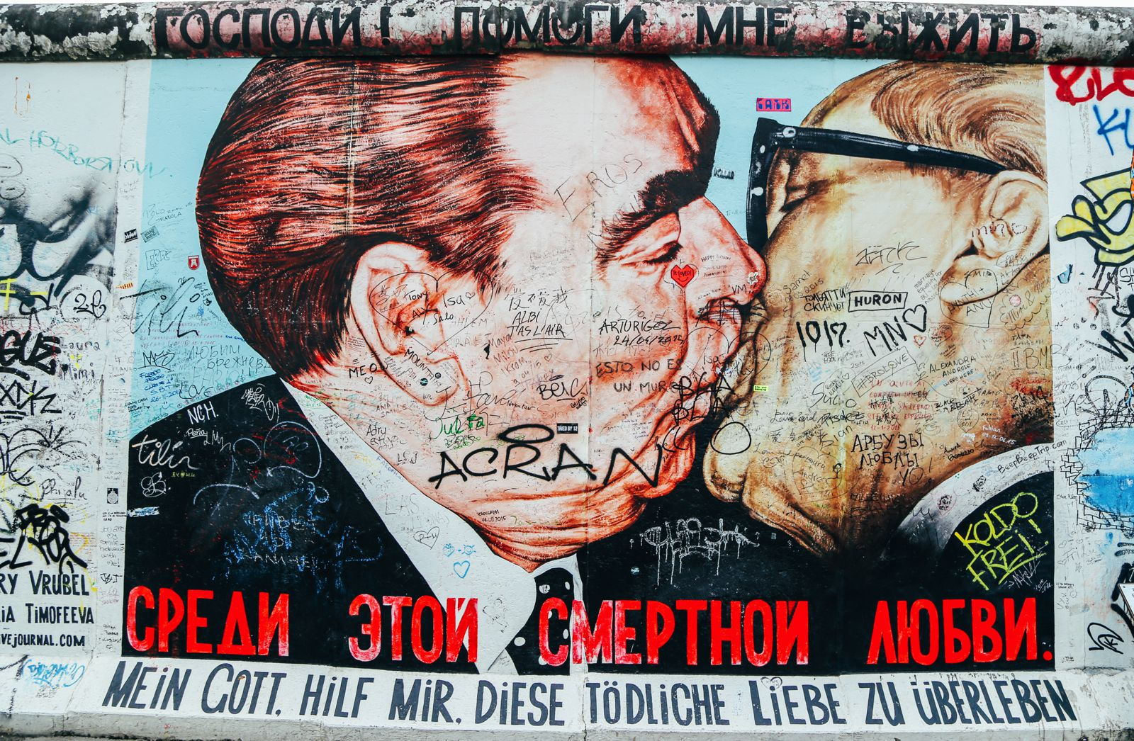 East Side Gallery, Berlin, Germany (13)