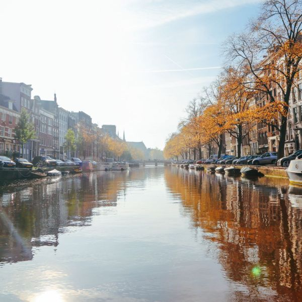 Exploring Amsterdam's Canal (By Driving A Boat For The First Time!) (9)