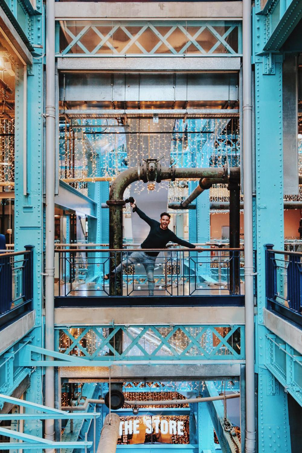 We're in Dublin, Ireland - Guinness Storehouse - Teeling Whiskey (2)