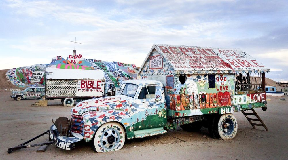 Have You Ever Heard Of Salvation Mountain in California? (2)