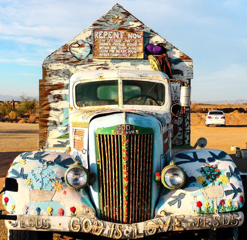 Have You Ever Heard Of Salvation Mountain in California? (6)