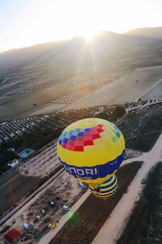 Hot Air Balloon Sunrise... In Sierra De Mariola, Valencia (13)
