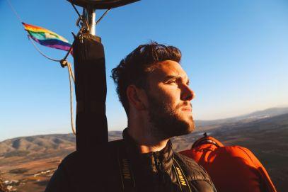Hot Air Balloon Sunrise... In Sierra De Mariola, Valencia (18)