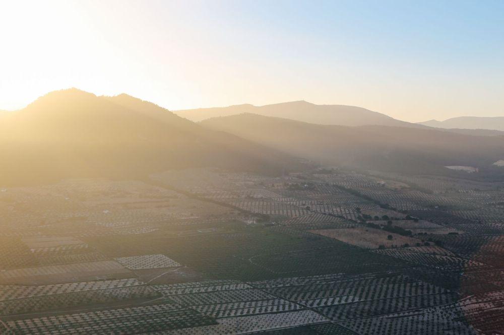 Hot Air Balloon Sunrise... In Sierra De Mariola, Valencia (23)