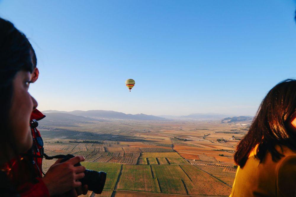 Hot Air Balloon Sunrise... In Sierra De Mariola, Valencia (34)
